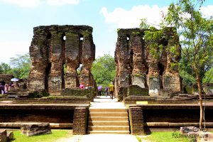 Palace of King Parakramabahu – Ancient City of Polonnaruwa, cultural trips in Sri Lanka